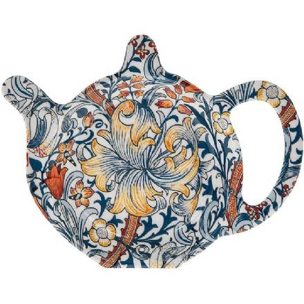 William Morris Golden Lily Tea Bag Holder